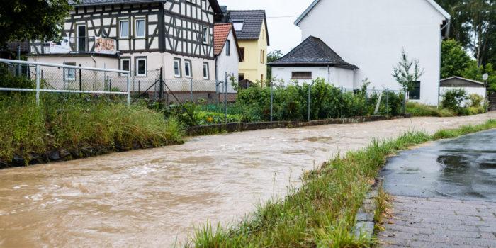 Erneut starke Regenfälle im Rheingau-Taunus-Kreis