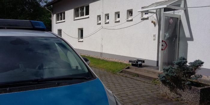 Feuerwehrgerätehaus in Waldems-Esch von Einbrechern heimgesucht