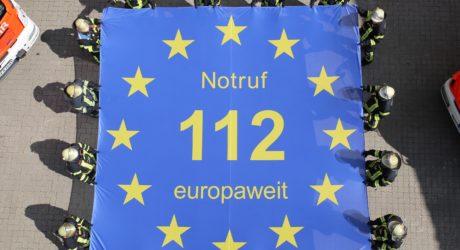 25 Jahre europaweiter Notruf 112