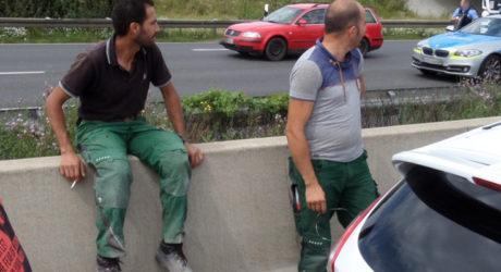 Wer kennt die beiden Männer? Fahndung wegen Verdachts der Unterlassenen Hilfeleistung bei tödlichem Unfall auf der A60