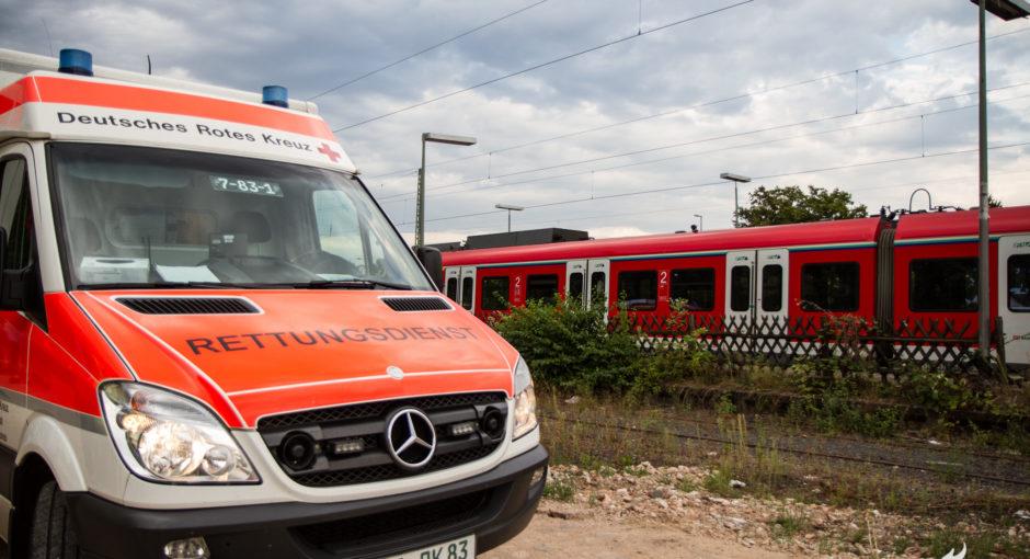 60 Personen aus S-Bahn evakuiert – Oberleitungsschaden in Hattersheim