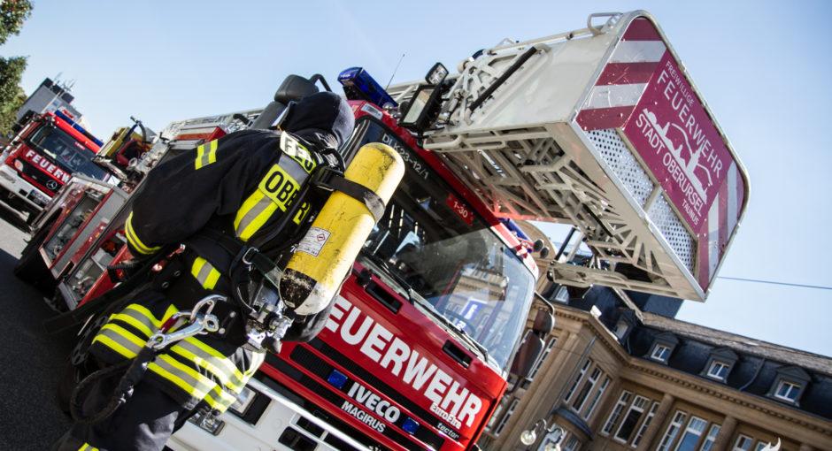 50.000 Euro Schaden bei Kellerbrand in Oberurseler Hochhaus