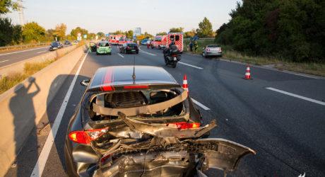 Fünf Verletzte bei Auffahrunfall bei Frauenstein