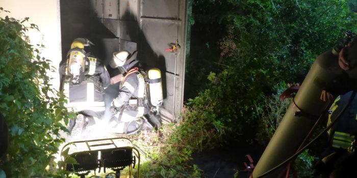 Brennendes Trafohäuschen sorgt für Stromausfall in Mainzer Stadtteilen