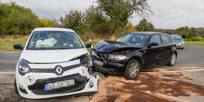 Zusammenstoß in der Kurve – Drei Verletzte auf K658 bei Heßloch