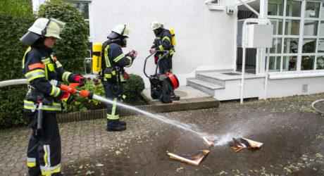 Küchenbrand in Naurod schnell gelöscht