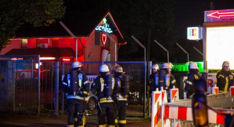 Reizgas in FKK-Club versprüht – Wieder Großeinsatz durch Pfefferspray