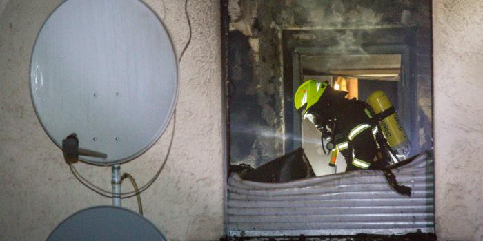 Wohnung in Bischofsheim ausgebrannt