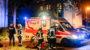 Feuerwehr retten leblosen Mann aus brennender Wohnung