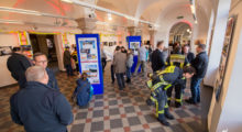 """Oberbürgermeister eröffnet """"10 Jahre Wiesbaden112""""-Fotoausstellung im Rathaus"""