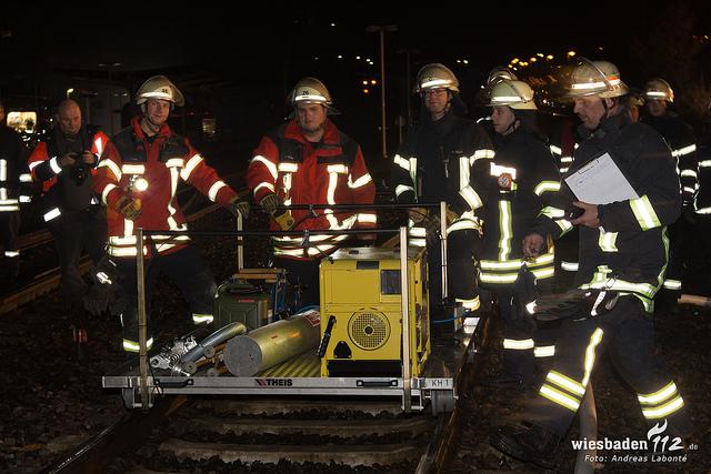Großübung bei Bad-Kreuznach – Zugunglück der Nahetalbahn
