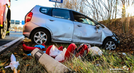 Ersthelfer retten verunglückten Autofahrer auf A60 bei Mainz