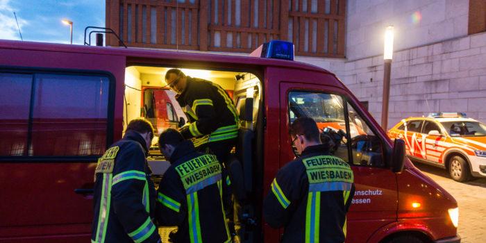 "Messungen der Feuerwehr am Lilien-Carré wegen ""Gefährdungssachverhalt"""