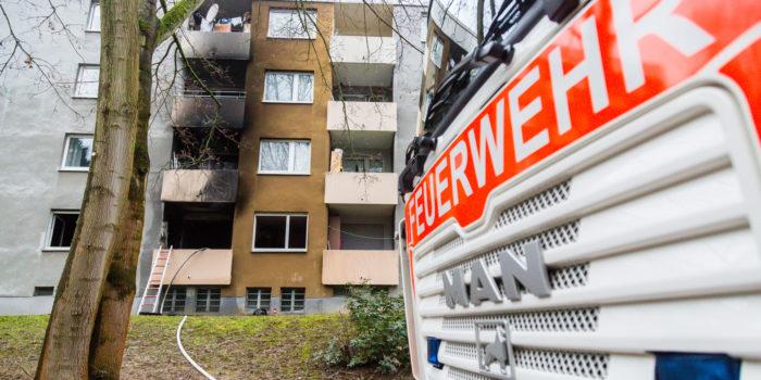 Wohnung im Schelmengraben ausgebrannt – Sechs Verletzte
