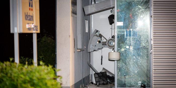 Geldautomat in Breckenheim gesprengt