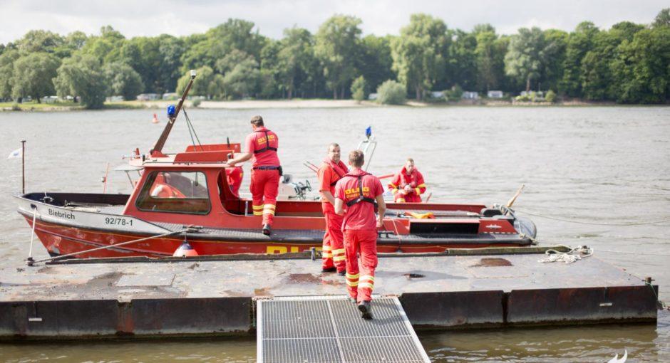 Mehr als 20 Verletzte bei Übung auf der Rettbergsaue