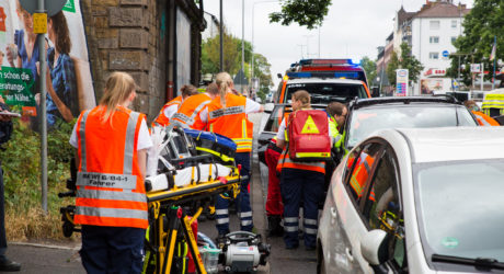 Auffahrunfall auf der Schiersteiner Straße – Vier Verletzte