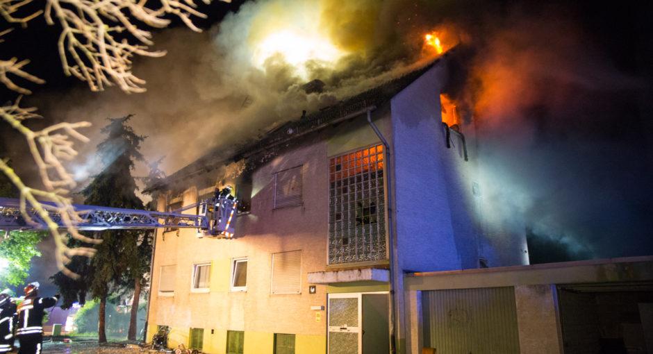 Wohnhaus in Mainz-Kastel in Flammen – Bewohner retten sich unverletzt