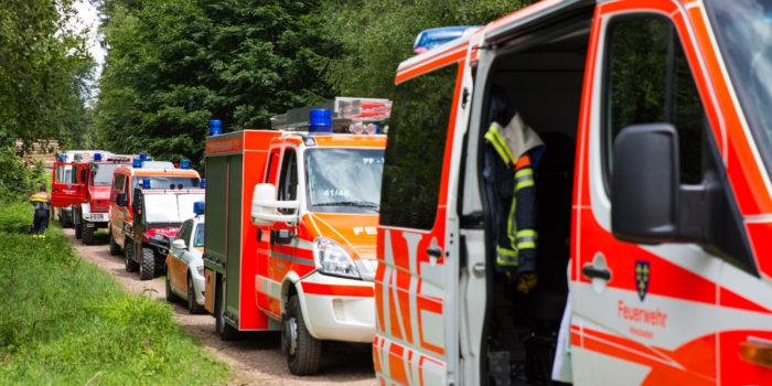 Neun Stunden Suchaktion – Verwirrter Mann unverletzt gefunden