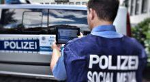 Mit Hashtag und Handschelle – Polizeipräsidium Westhessen feiert #Wirwerden1