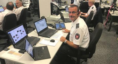 Gefahrenabwehr mit Sozialen Medien: Hessische Feuerwehrleute unterstützen mit Social-Media-Monitoring bei G20-Gipfel