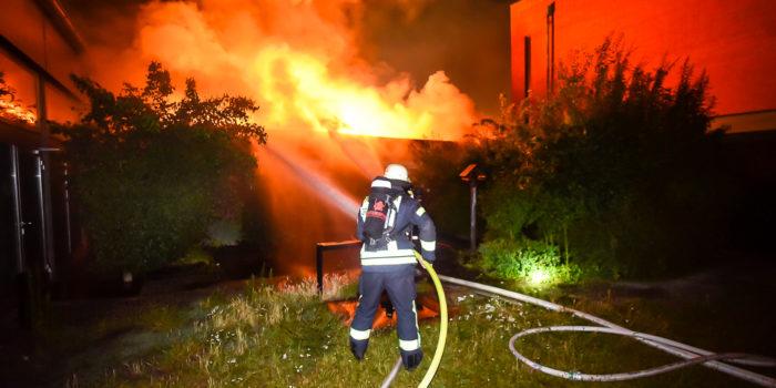 Gebäude der Tafel in Groß-Gerau niedergebrannt