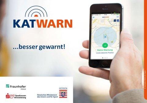 Hessische Polizei warnt bei Großschadenslagen künftig auch über KATWARN