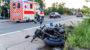 Zusammenstoß zwischen Auto und Motorrad auf der Biebricher Allee – Motorradfahrer schwer verletzt