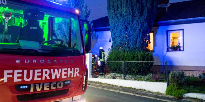 Küchenbrand in Steinfischbach endet glimpflich