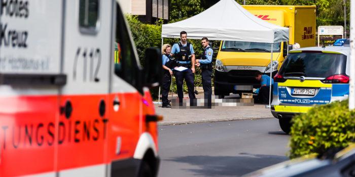Bad Homburg: 97-Jährige von DHL-Laster überrollt