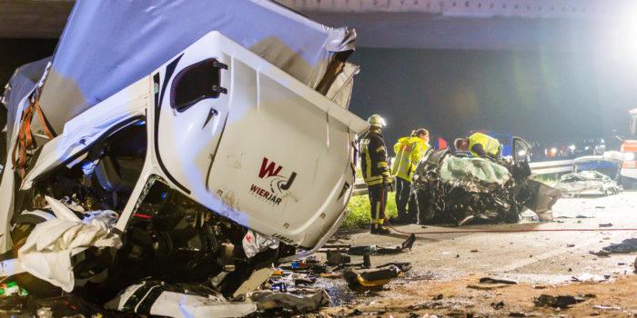 Haftbefehl nach tödlichem Geisterfahrer-Unfall auf der A67