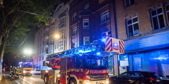 Küche in der Mainzer Neustadt ausgebrannt – Zwei Verletzte