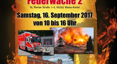 Tag der offenen Tür bei der Feuerwehr Wiesbaden