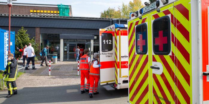 Reizgas in Schule versprüht – 64 Verletzte in Runkel