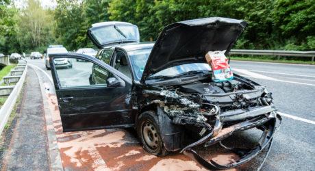 Wieder Unfall auf Eiserner Hand: Beim Überholen die Kontrolle verloren