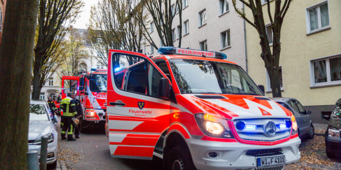 Großeinsatz in der Wiesbadener Innenstadt wegen Notrufmissbrauch