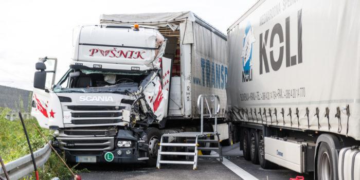 Unfall mit Gefahrgut-Lkw auf der A3 bei Elz