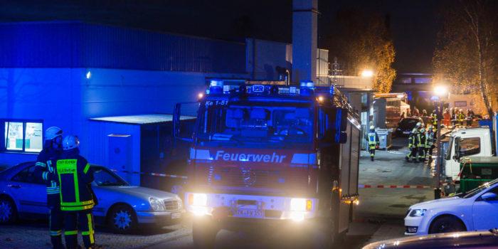Gefahrgutunfall in Kelkheim-Münster – Wasserstoffperoxid mit Salzsäure vermischt