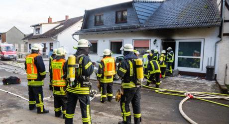 Kellerbrand in Aarbergen-Daisbach – Enorme Rauchentwicklung
