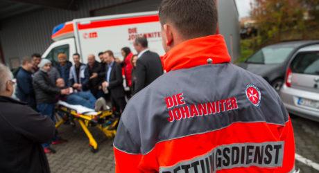 Stadt und Johanniter schulen Flüchtlinge im Gesundheitswesen