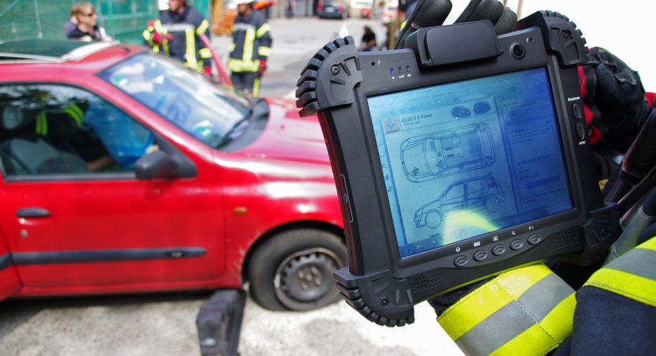 Die Rettungskarte: Standardisierte Fahrzeuginformationen für Rettungskräfte