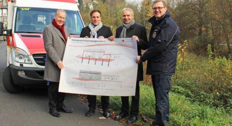 Main-Taunus-Kreis stellt neuen Rettungswachen-Standort in Eppstein vor