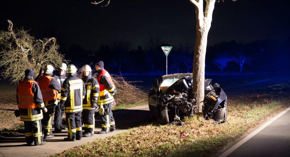 Tödlicher Alleinunfall bei Rüsselsheim-Königstädten