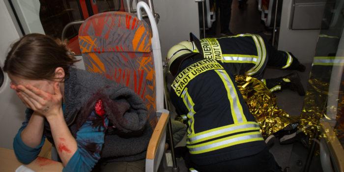 MANV100 als unangekündigte Alarmübung im Hochtaunuskreis