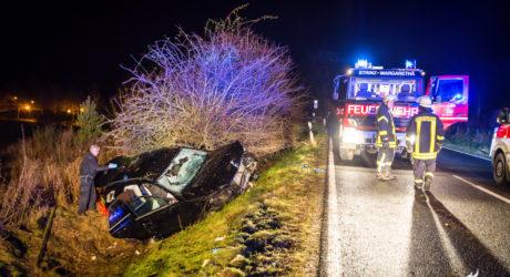 Tödlicher Verkehrsunfall auf der L3032 am Hofgut Georgenthal