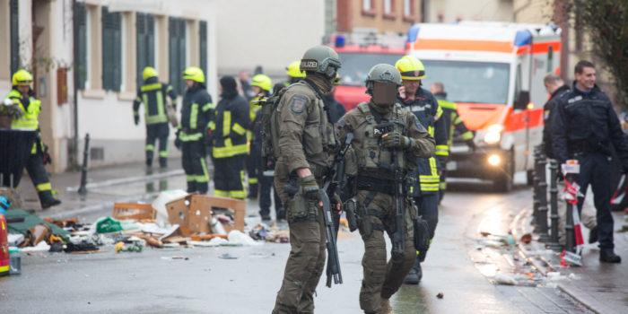 Mann randaliert in Wohnhaus – SEK-Einsatz in Johannisberg
