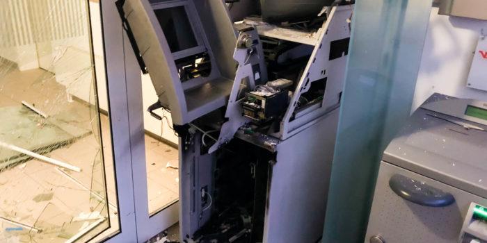 Geldautomat in Hünstetten-Wallbach gesprengt