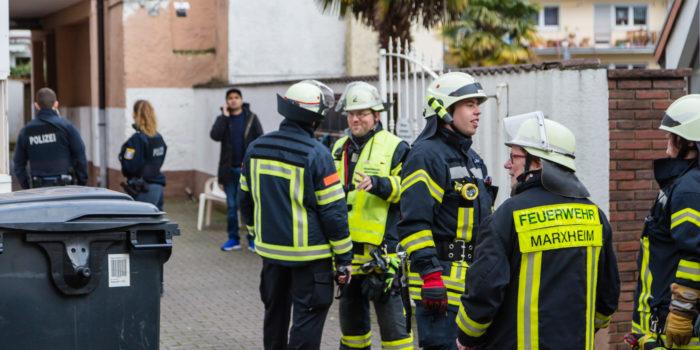 Küchenbrand in Asylunterkunft in Hofheim-Marxheim – Anwohner verhindern Schlimmeres