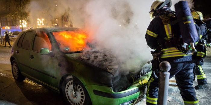 Ereignisreiche Silvesternacht für Feuerwehr und Rettungsdienst in Wiesbaden