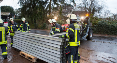 Wiesbaden bereitet sich auf Hochwasser vor – B42 am Wochenende gesperrt